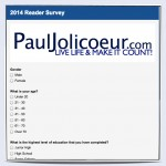 Paul Jolicoeur 2014 Readers Survey